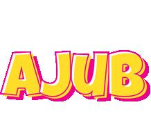 Ajub kaboom logo