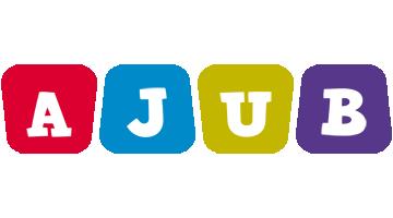 Ajub kiddo logo