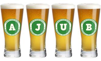 Ajub lager logo