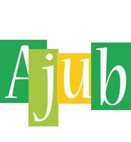 Ajub lemonade logo