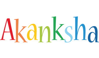 Akanksha birthday logo