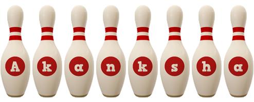 Akanksha bowling-pin logo