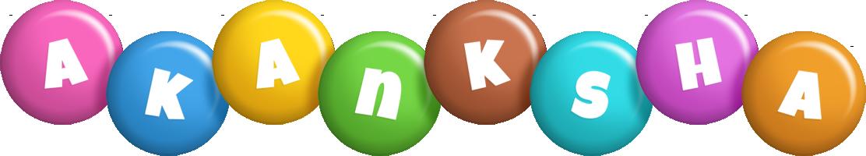 Akanksha candy logo