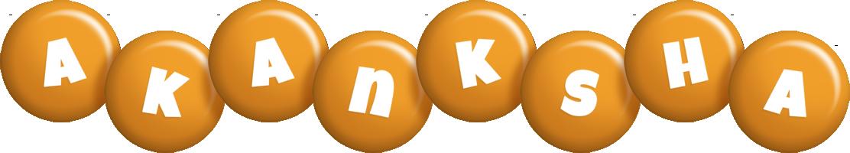 Akanksha candy-orange logo