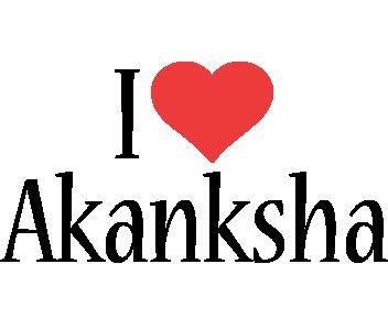 Akanksha i-love logo