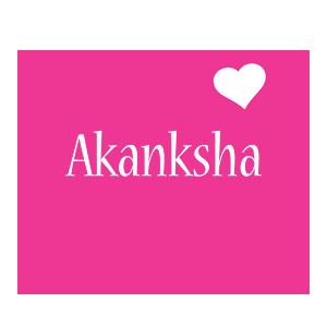 Akanksha Logo Name Logo Generator I Love Love Heart Boots