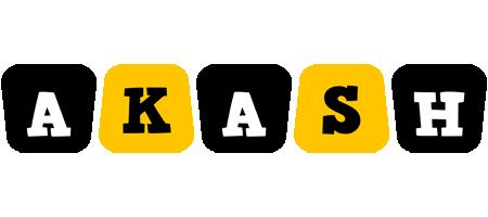 Akash boots logo