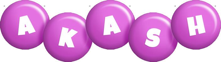 Akash candy-purple logo