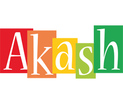 Akash colors logo