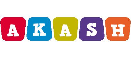 Akash daycare logo