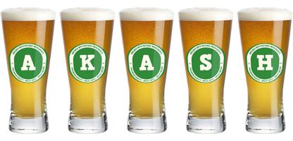 Akash lager logo