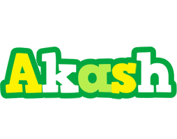 Akash soccer logo