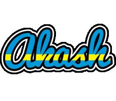 Akash sweden logo