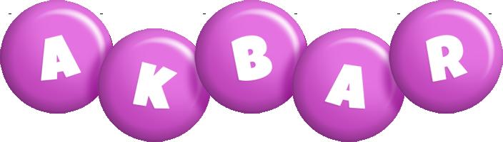 Akbar candy-purple logo
