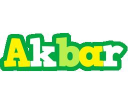 Akbar soccer logo