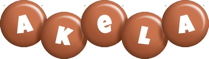 Akela candy-brown logo