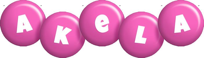 Akela candy-pink logo