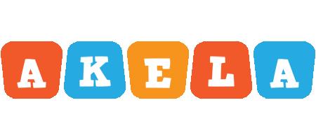 Akela comics logo