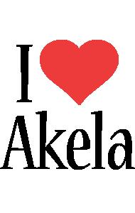 Akela i-love logo