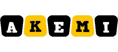 Akemi boots logo