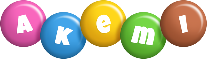 Akemi candy logo