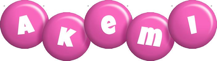 Akemi candy-pink logo