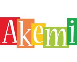 Akemi colors logo