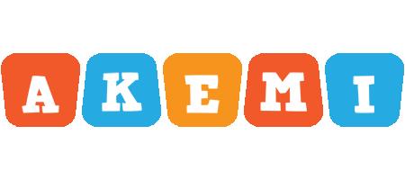 Akemi comics logo