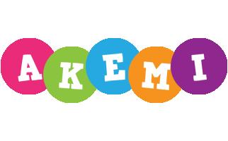 Akemi friends logo