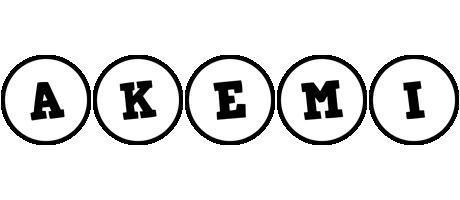 Akemi handy logo
