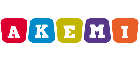 Akemi kiddo logo