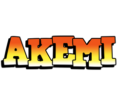 Akemi sunset logo