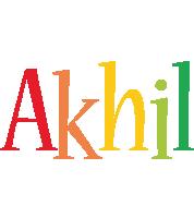 Akhil birthday logo