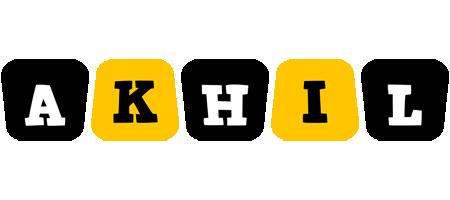 Akhil boots logo