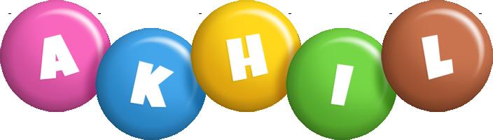 Akhil candy logo