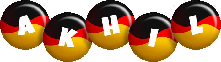 Akhil german logo