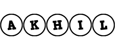 Akhil handy logo