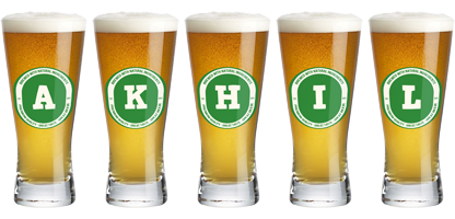 Akhil lager logo