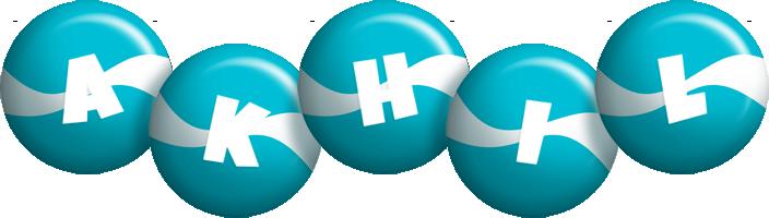 Akhil messi logo