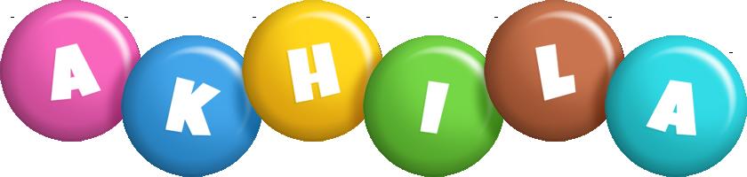 Akhila candy logo