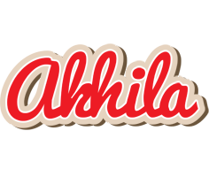 Akhila chocolate logo
