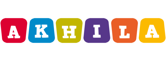 Akhila daycare logo