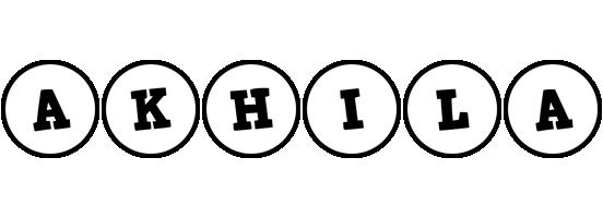 Akhila handy logo