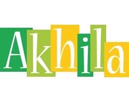 Akhila lemonade logo