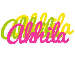 Akhila sweets logo