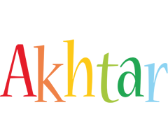 Akhtar birthday logo