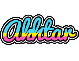Akhtar circus logo