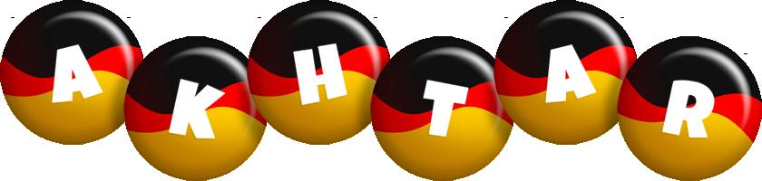Akhtar german logo