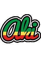 Aki african logo