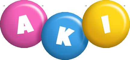 Aki candy logo